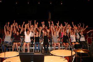 Déc 2020 : Le choeur de jeunes VOICES en concert à la Halle aux Grains de Toulouse !